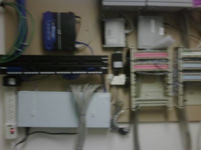 Clean Network Cabling